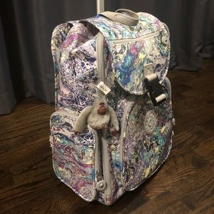 Kipling luggage Alcatraz laptop wheeled backpack
